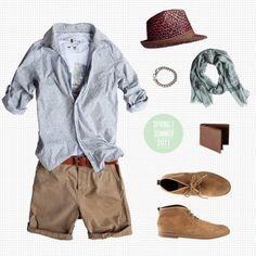 Tomboy Summer Fashion