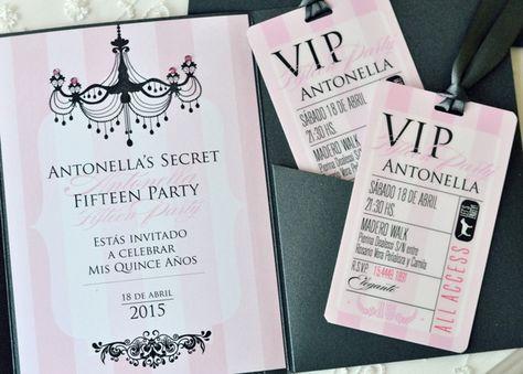 Invitaciones De 15 Años Originales Y Modernas 2015 Buscar