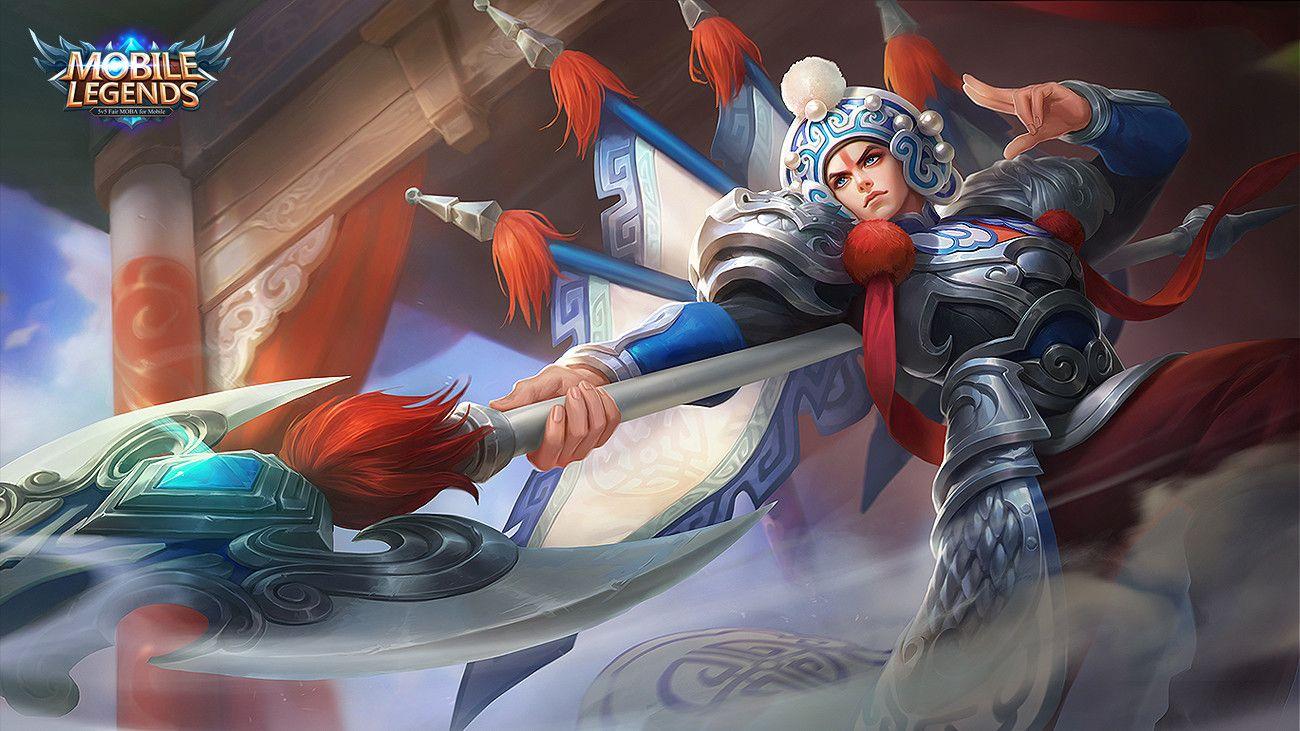 Zilong: Changbanpo Commander. Zilong: Changbanpo Commander Mobile Legend  Wallpaper ...