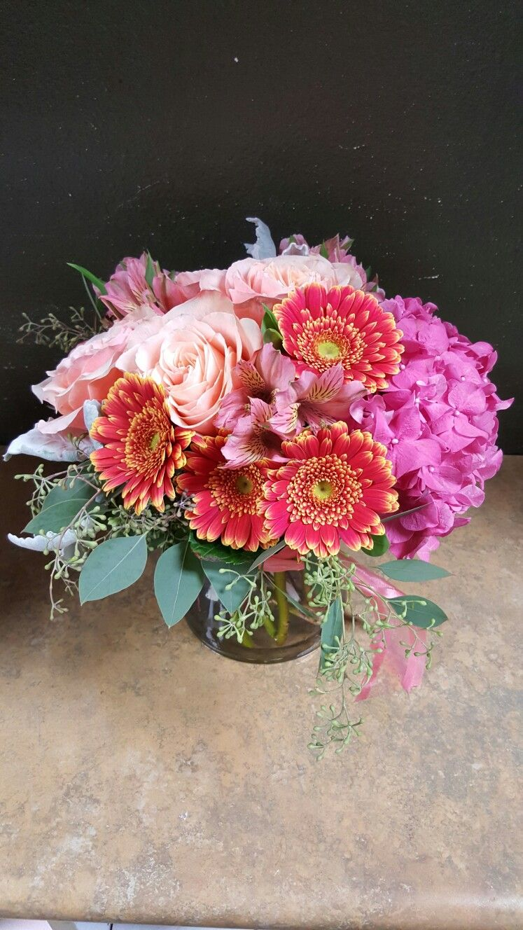 Pink And Orange Flower Arrangements For Wedding And Events My