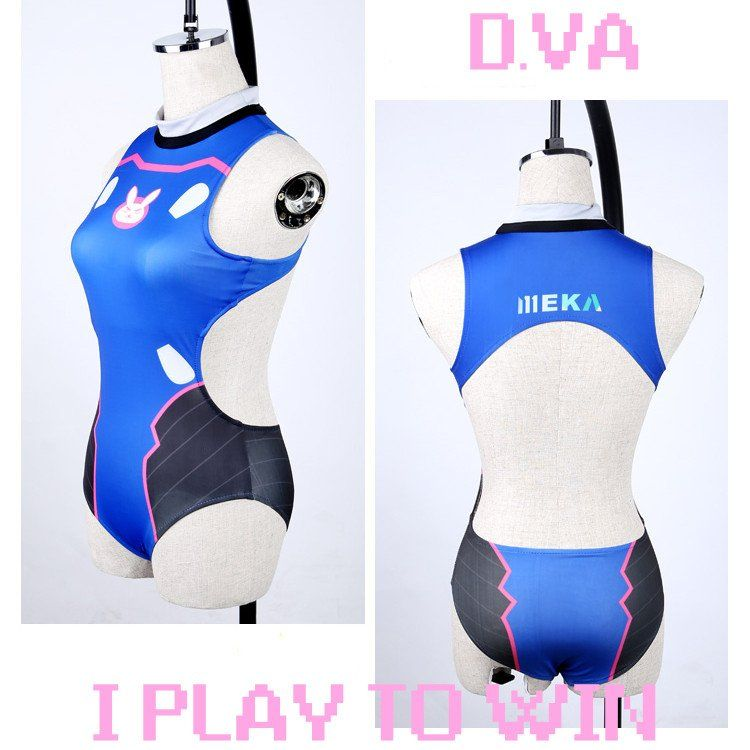 75d4abcfc5 Overwatch D.VA DVA Swimsuit Swim Suit Ver.2 SD01231 in 2019