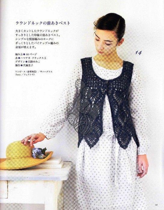Pin de Sandra Leon en Vestir Crochet-Clothes | Pinterest | Túnicas ...