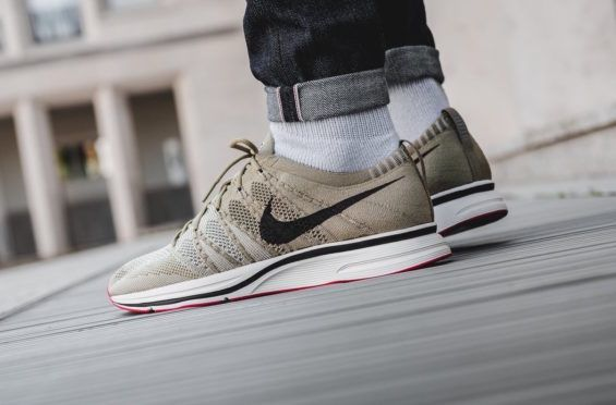 4598129cb22f2 Look Out For The Nike Flyknit Trainer Neutral Olive The Nike Flyknit Trainer  just released in