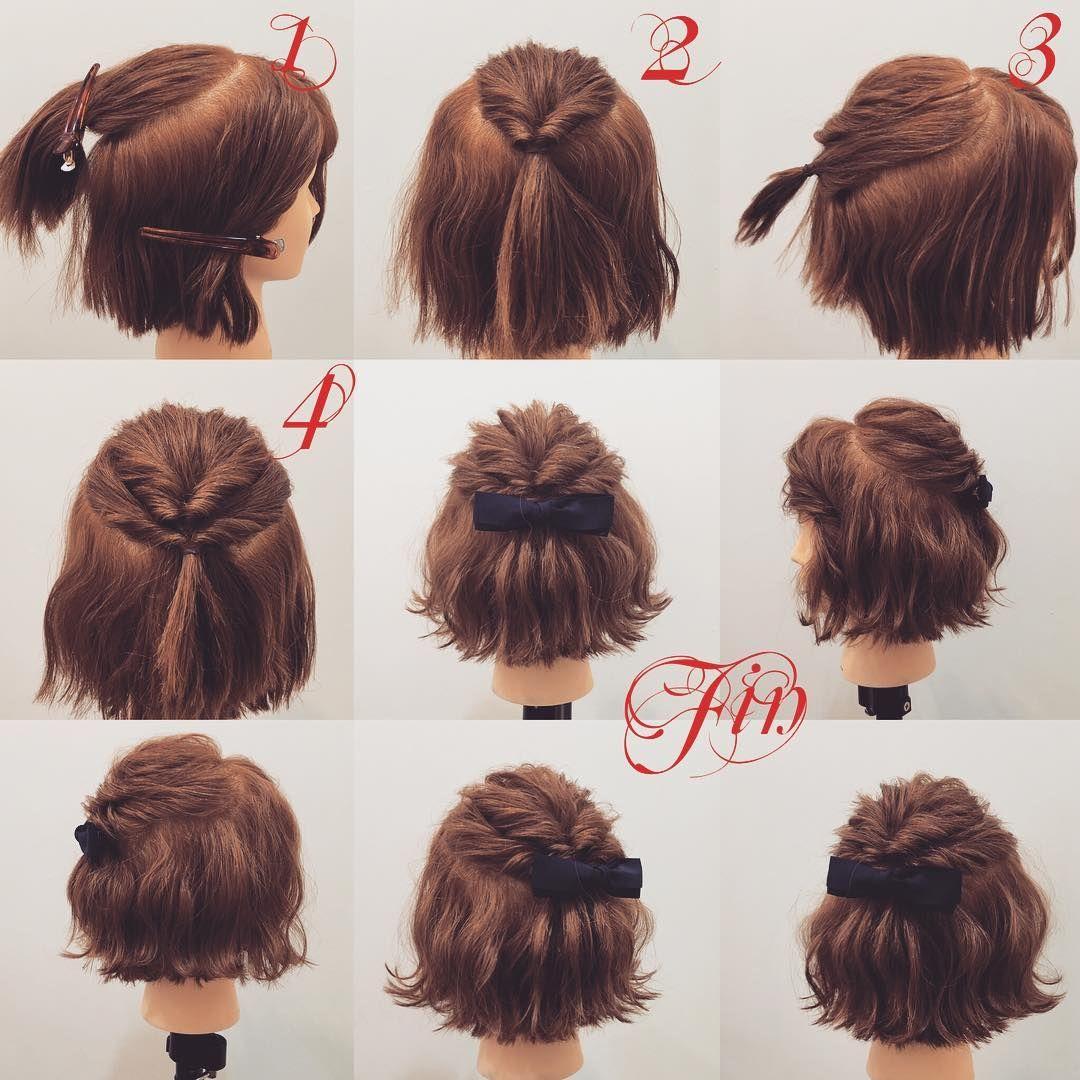 Fryzurka Hair Pinterest Peinados Cabello Y Pelo Corto