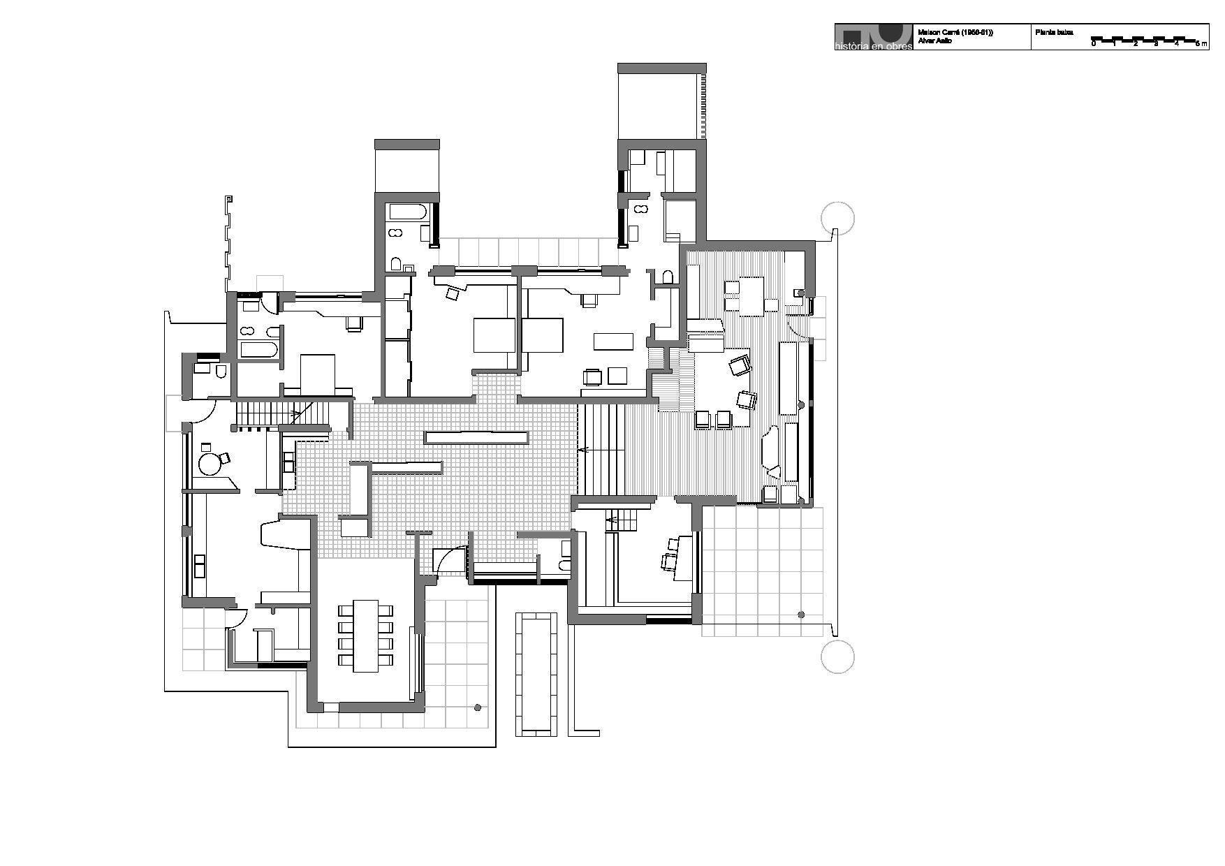 Maison Louis Carré   Urbipedia · Family House PlansFamily ...