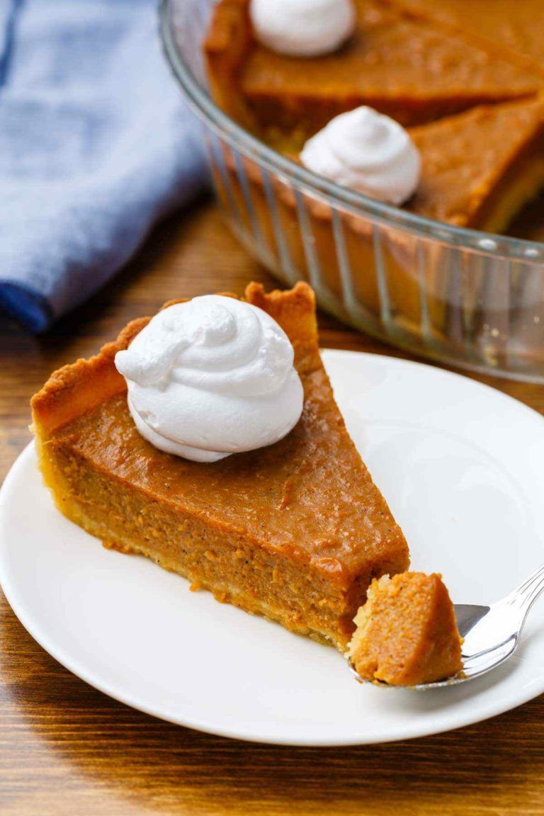 Paleo Sweet Potato Pie With An Almond Flour Crust