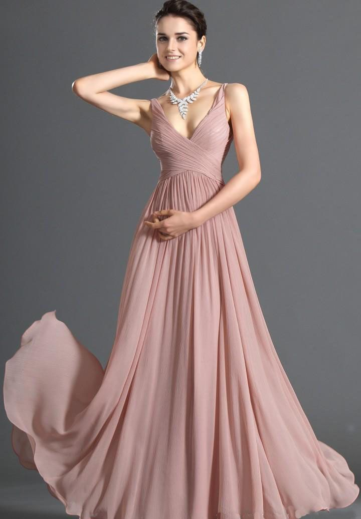 chiffon_a_line_evening_dress_1.jpg | Abiti damigella | Pinterest ...