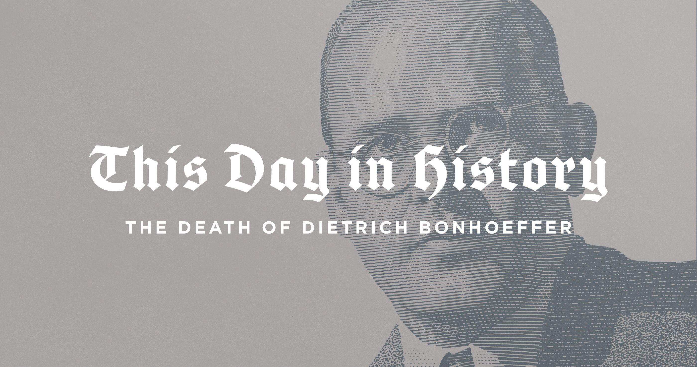 Pin Ontrich Bonhoeffer