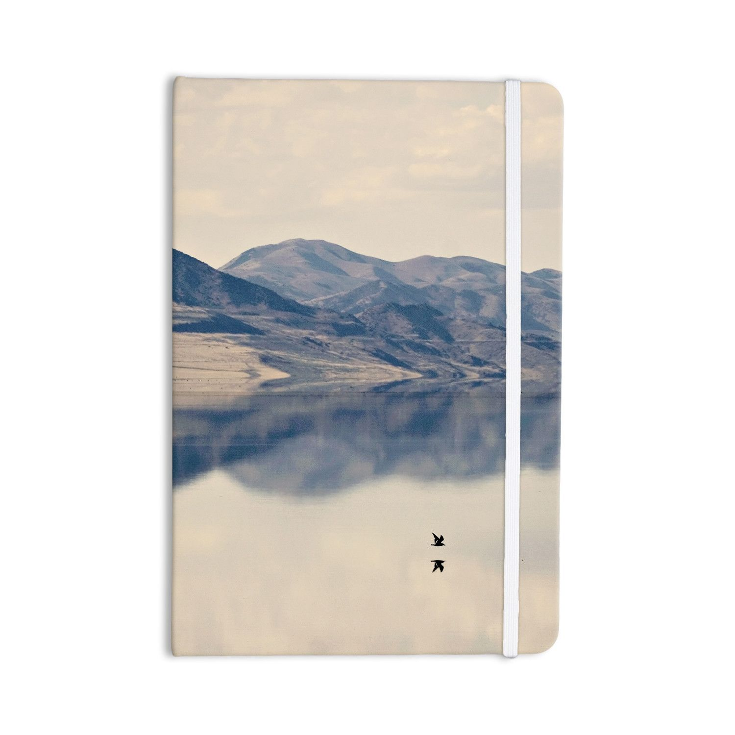 """Sylvia Coomes """"Reflective 1"""" Tan Blue Everything Notebook"""