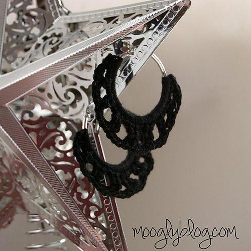 Free Pattern Timeless Crochet Earrings pattern by Tamara Kelly