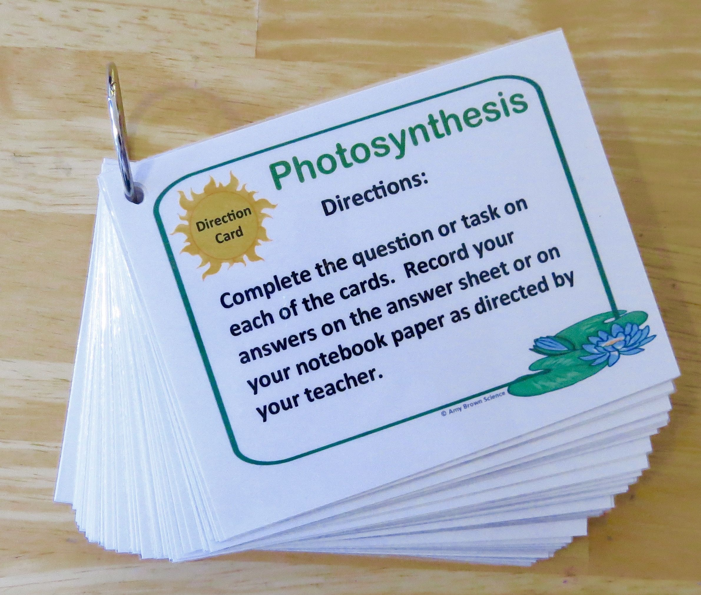 Photosynthesis Task Cards Increase Mastery Of The Information With These 60 Task Cards Photosynthesis Task Cards Biology Classroom