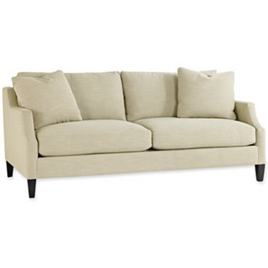 Catalina 80 Sofa In Shoeduck Fabric Jcpenney Sofa Comfy Sofa Livng Room