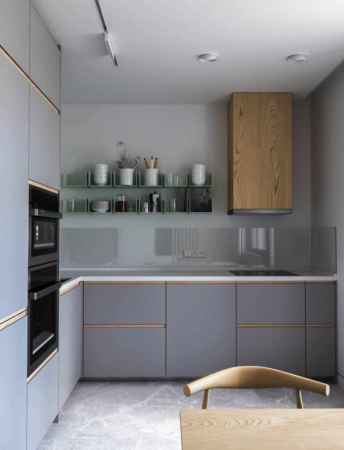 Three Pretty Pastel Home Decor Schemes Modern Kitchen Design Modern Kitchen Set Home Decor Kitchen