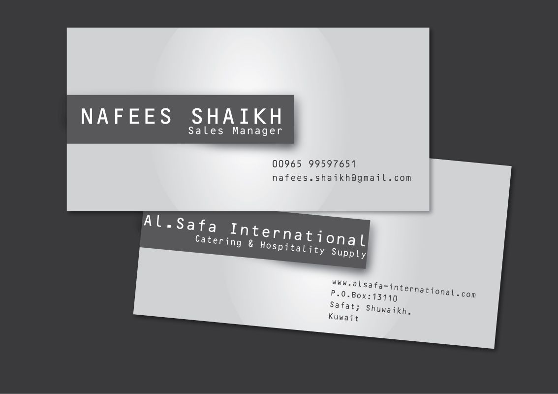 Business Card Sample Design  Logos  Card Design