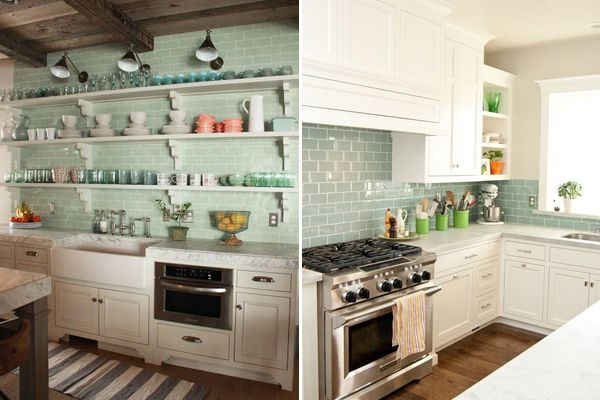 Cores candy colors e tons pastel são ótimas opções para usar na decoração da cozinha. No blog, reunimos 20 cozinhas verde menta para te inspirar