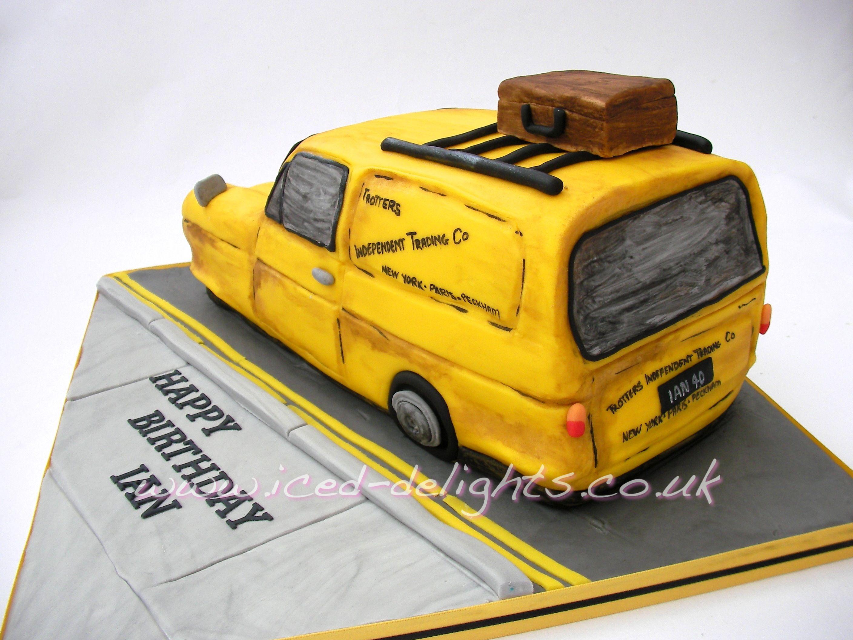 Only Fools And Horses Cake Del Boy Van Designed By Www Iced Dlights Co Uk Only Fools And Horses Fishing Theme Cake Horse Birthday Cake