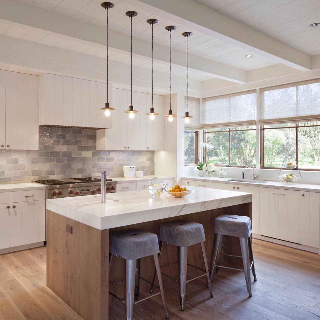 Fantastic kitchen. Love the thick marble Island from Jennifer ...