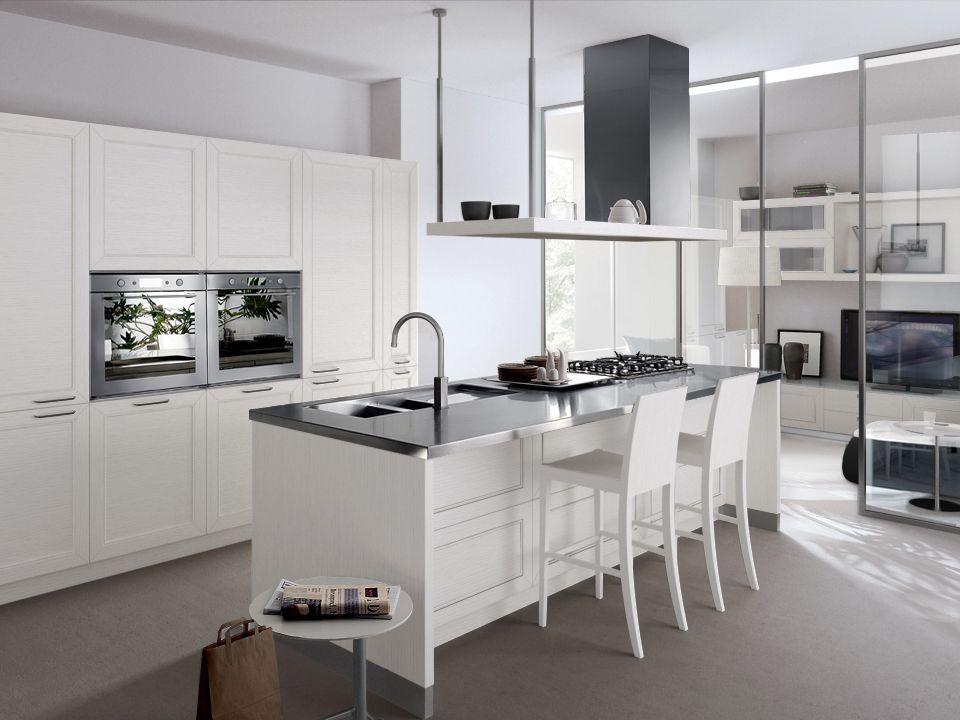 Rovere Bianco Assoluto Scav 670   Kitchen   Pinterest   Cucine e Idee