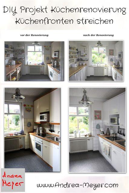 Andrea Meyer: DIY - Projekt Küchenrenovierung: Küchenfronten ...