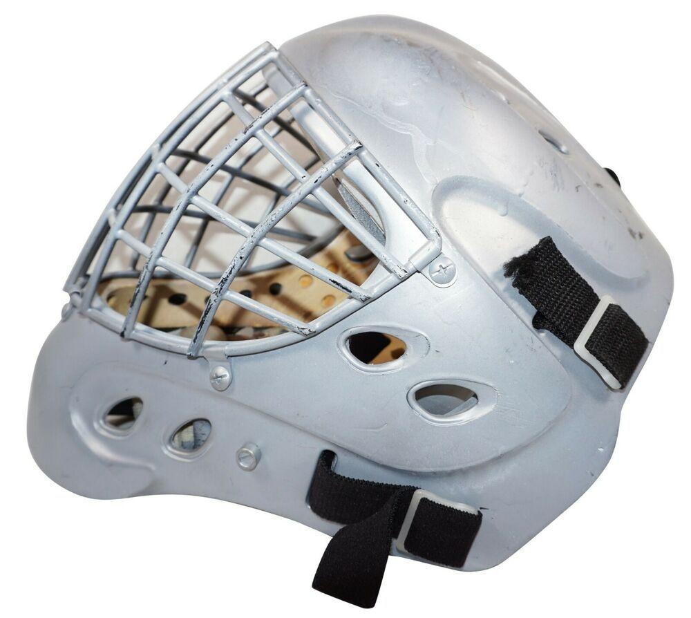 Franklin Sports Gfm 6000 Ice Hockey Goalie Mask Carbon Fiber S M 2001 Used Franklinsports En 2020