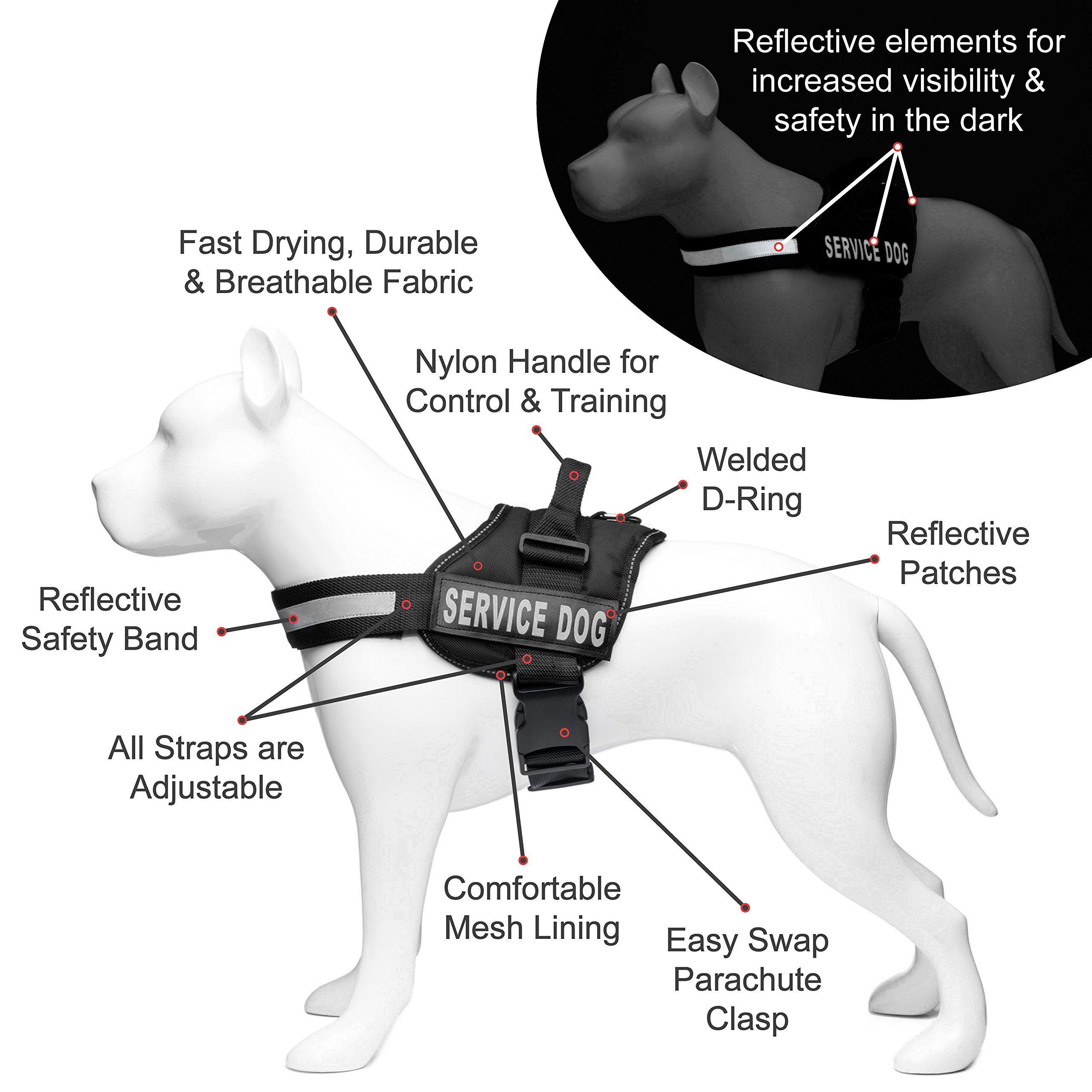 Tactical Dog Excursion K9 Training Patrol Vest Harness Extra