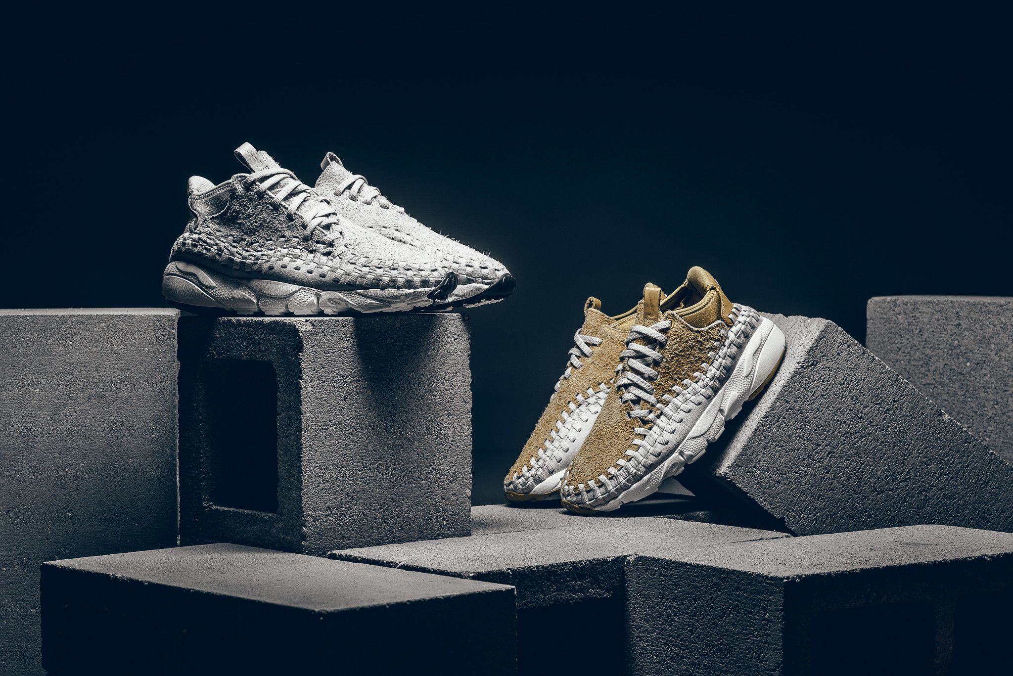 new concept 8faf6 641df ... Nike Air Footscape Woven Chukka QS - Flat GoldLight Orewood Brown -  Sneaker Politics .