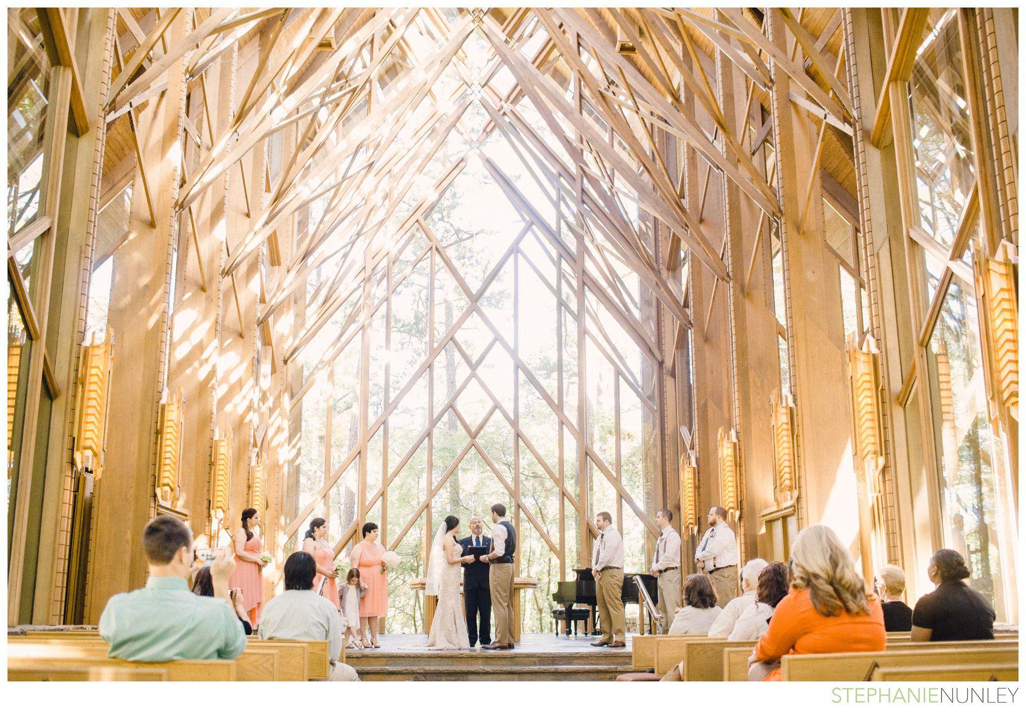 A Garvan Gardens Wedding in Hot Springs, AR | Hot springs ...