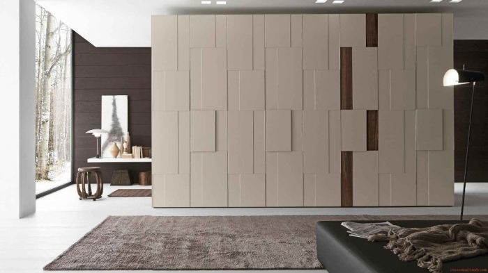 31 fascinating awesome bedroom wardrobe designs 2017 for Door design latest 2015