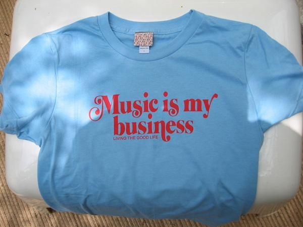 Music is my business