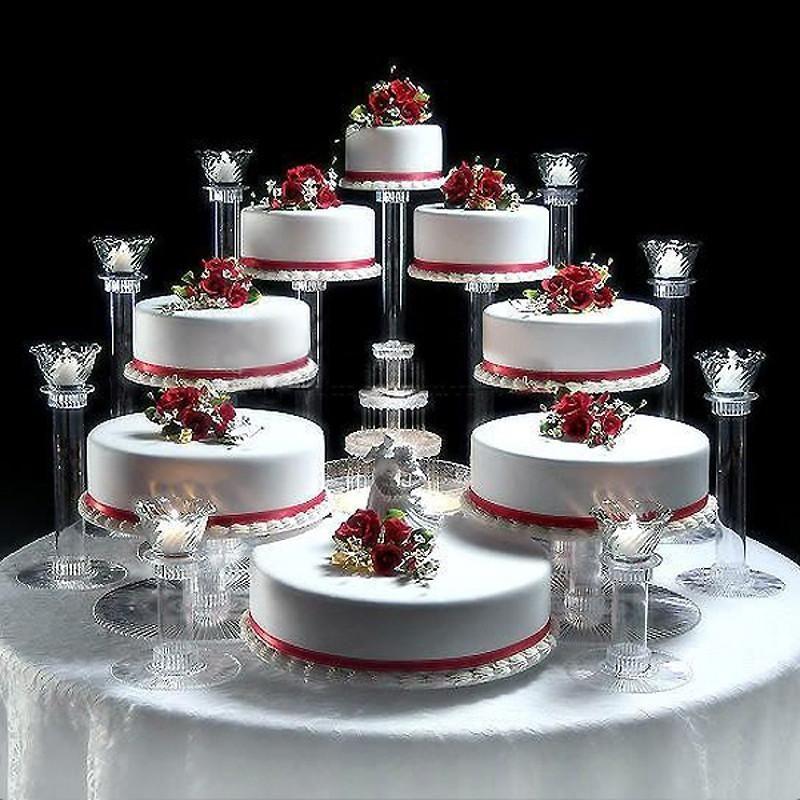8 tier clear acrylic cupcake cake stand pastel de fiesta