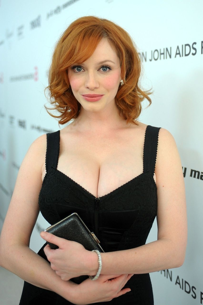 Big tit redhead mature woman