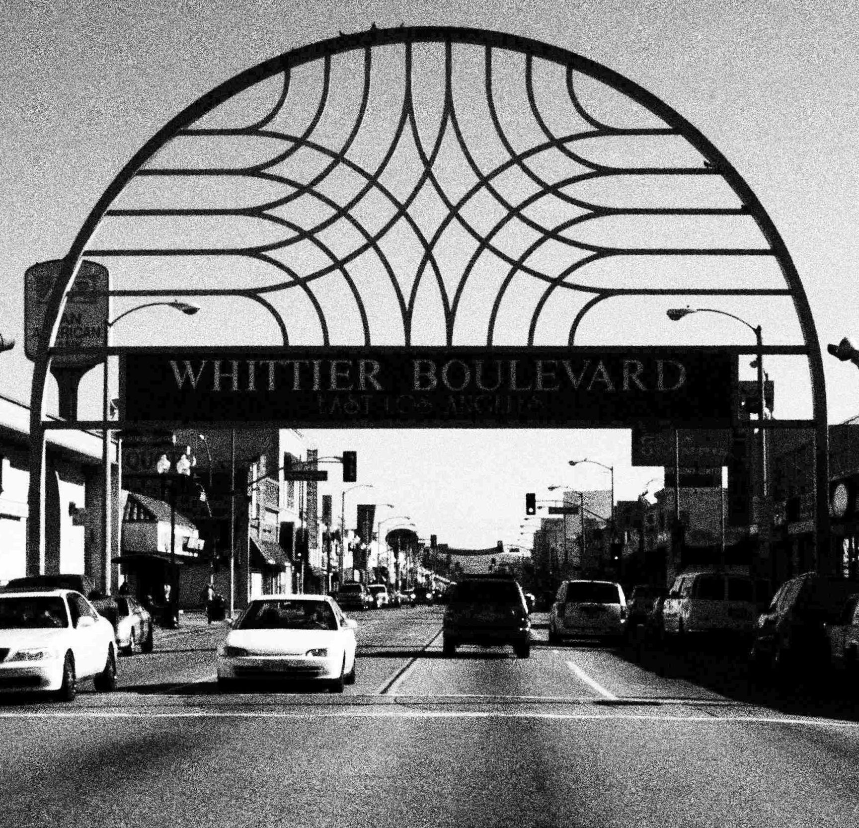 Arches on Whittier Blvd East los angeles, Whittier blvd