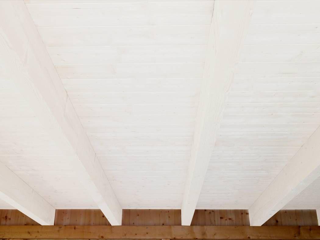 Holzdecke Weiß Gestrichen Holzdecke Streichen Holzdecke