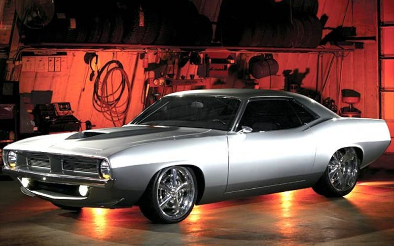 1970 Plymouth Barracuda Muscle American classic cars