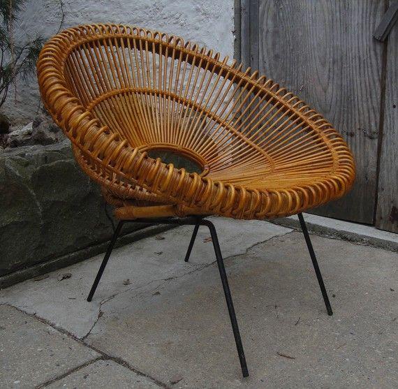 A Design Rattan Chair