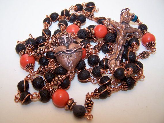 Unbreakable Rosary COPPER COLLECTION Rosary Of The by robertd5198, $295.00