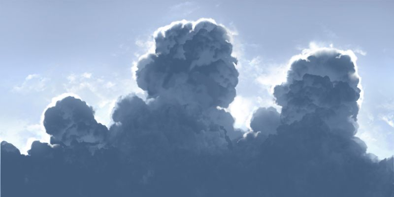 Anime Cloud Tutorial Cloud Tutorial Clouds Cloud Lights