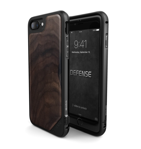 Defense Lux Wooden Case For Iphone 7 Plus Walnut Wooden Cases Iphone Iphone 7 Plus Cases Iphone 7