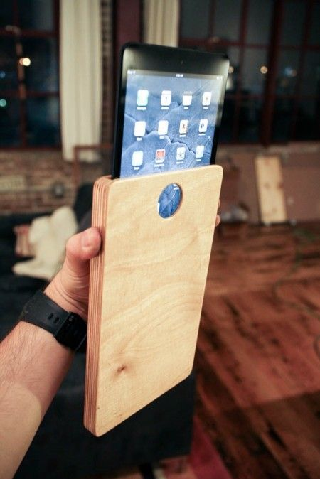 Weekend Project Make A Wooden Ipad Or Tablet Case Diy