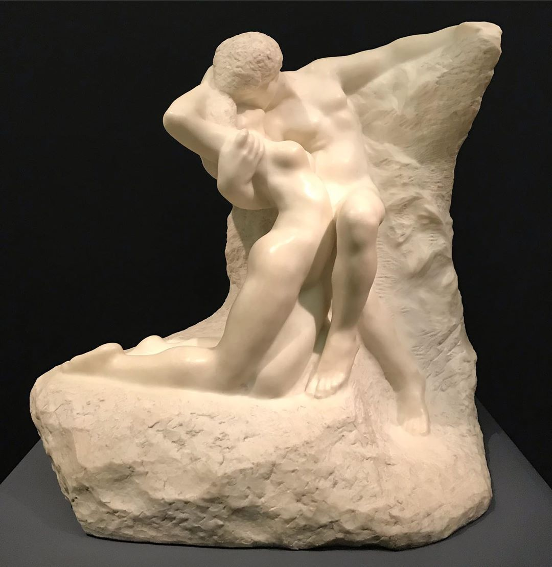 "AUGUSTE RODIN "" ETERNAL SPRING "" The woman arches her torso in willful surre... - #arches #auguste #eternal #rodin #spring #torso #woman - #AugusteRodin"