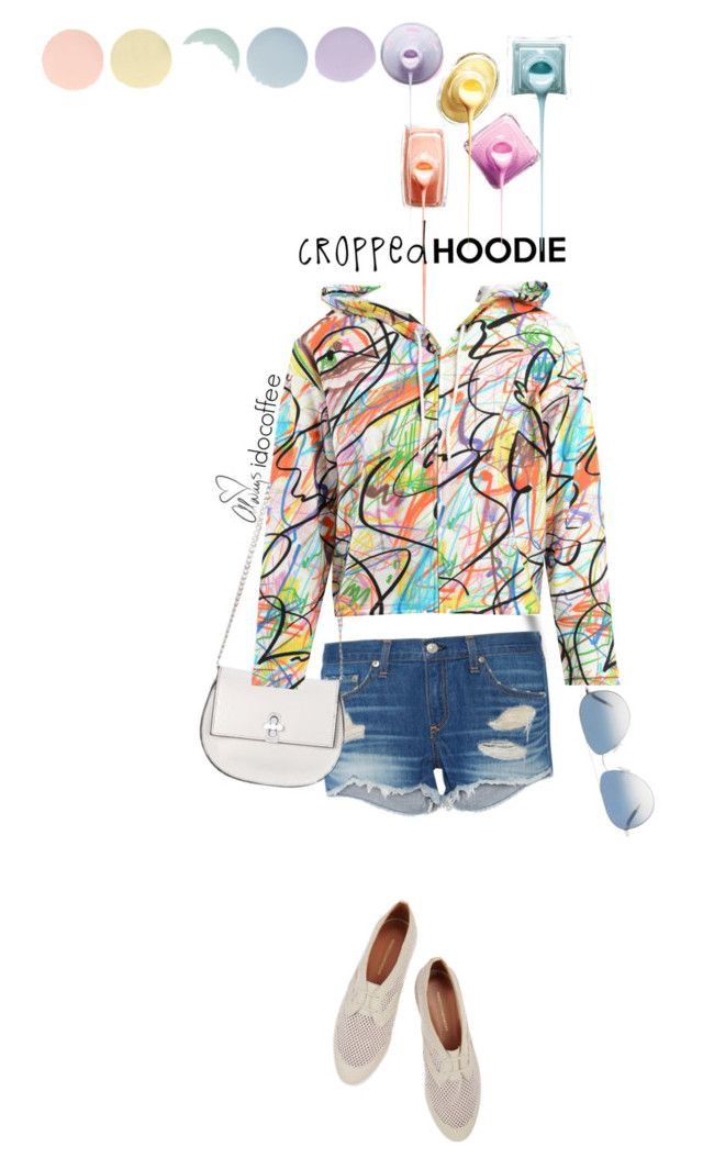 """Cropped Hoodie ~ Contest 3.20.16"" by idocoffee ❤ liked on Polyvore featuring Love Always, rag & bone, Lipsy, Deborah Lippmann, Oliver Peoples, Jeremy Scott and Rebecca Minkoff"