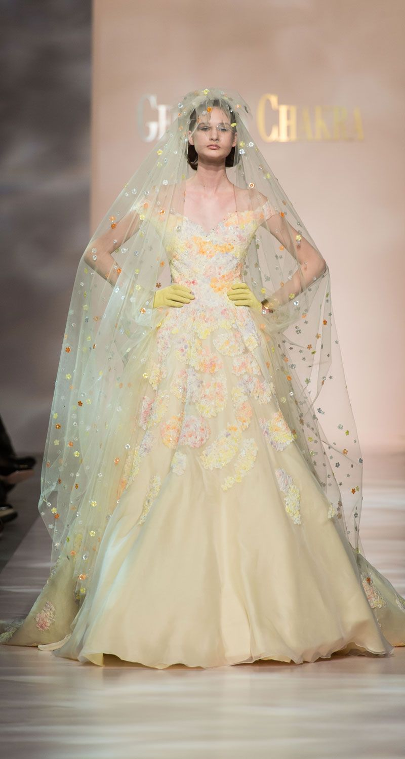 Untraditional wedding dresses  Georges Chakra wedding  Runway  Pinterest  Haute couture