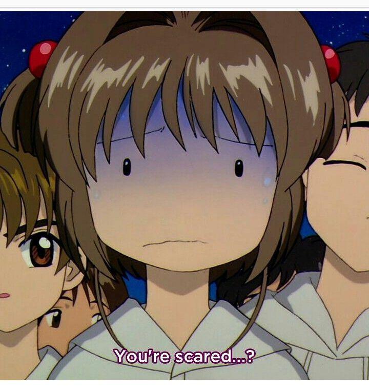 Sakura Scared...