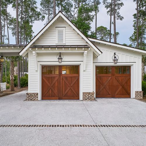 Garage And Shed Design Ideas Pictures Remodel Decor Modern Farmhouse Exterior Farmhouse Garage Farmhouse Exterior