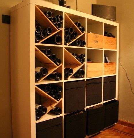 EXPEDIT pour les amoureux du vin Cave, Ikea hack and Ikea hackers