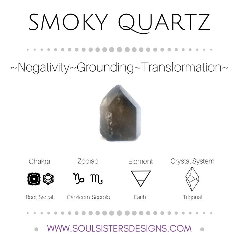 Metaphysical Healing Properties of Smoky Quartz, including ... Quartz Crystal Spiritual Meaning
