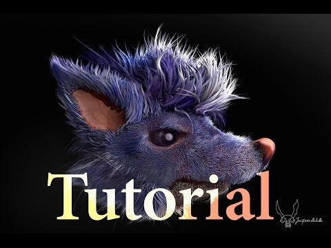 Tutorial: Fibermesh for Concept part 2: Zbrush Sculpting and Editing ( fur, feathers, hair, quill ) - YouTube