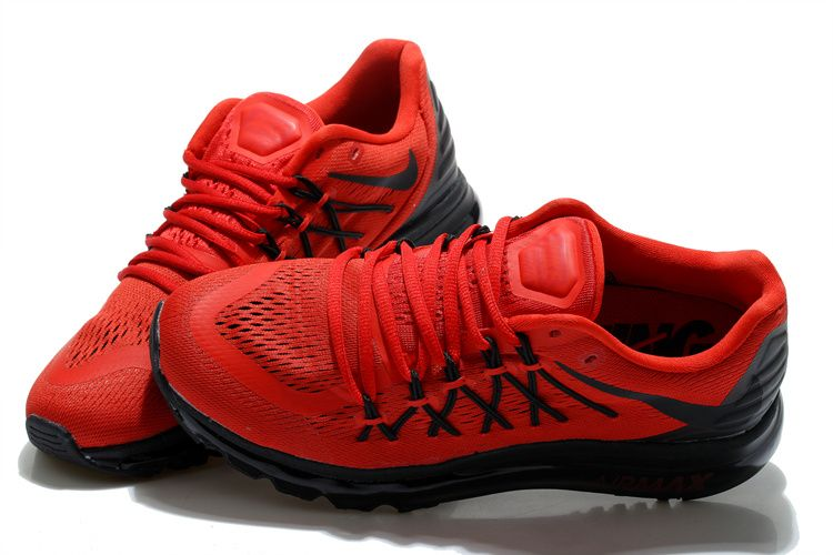 Fashionable Nike Air Max 2015 Sports Shoes Black Red Online Wholesale at  Big Discount