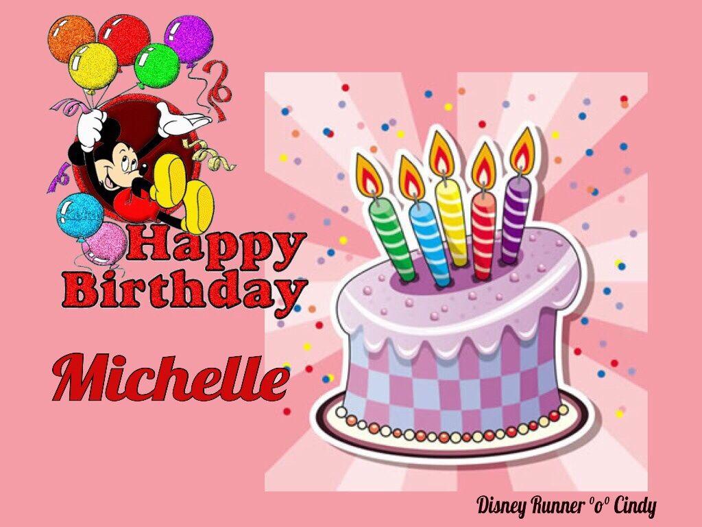 Michelle Happy birthday, Cake pops, Birthday