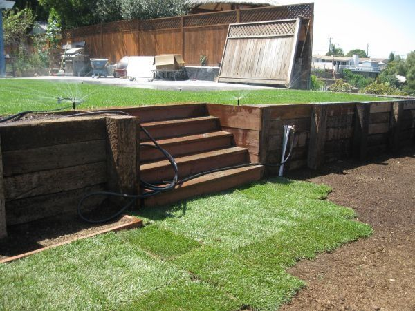 Retaining Wall | Backyard | Pinterest | Search, Ties And Image Search